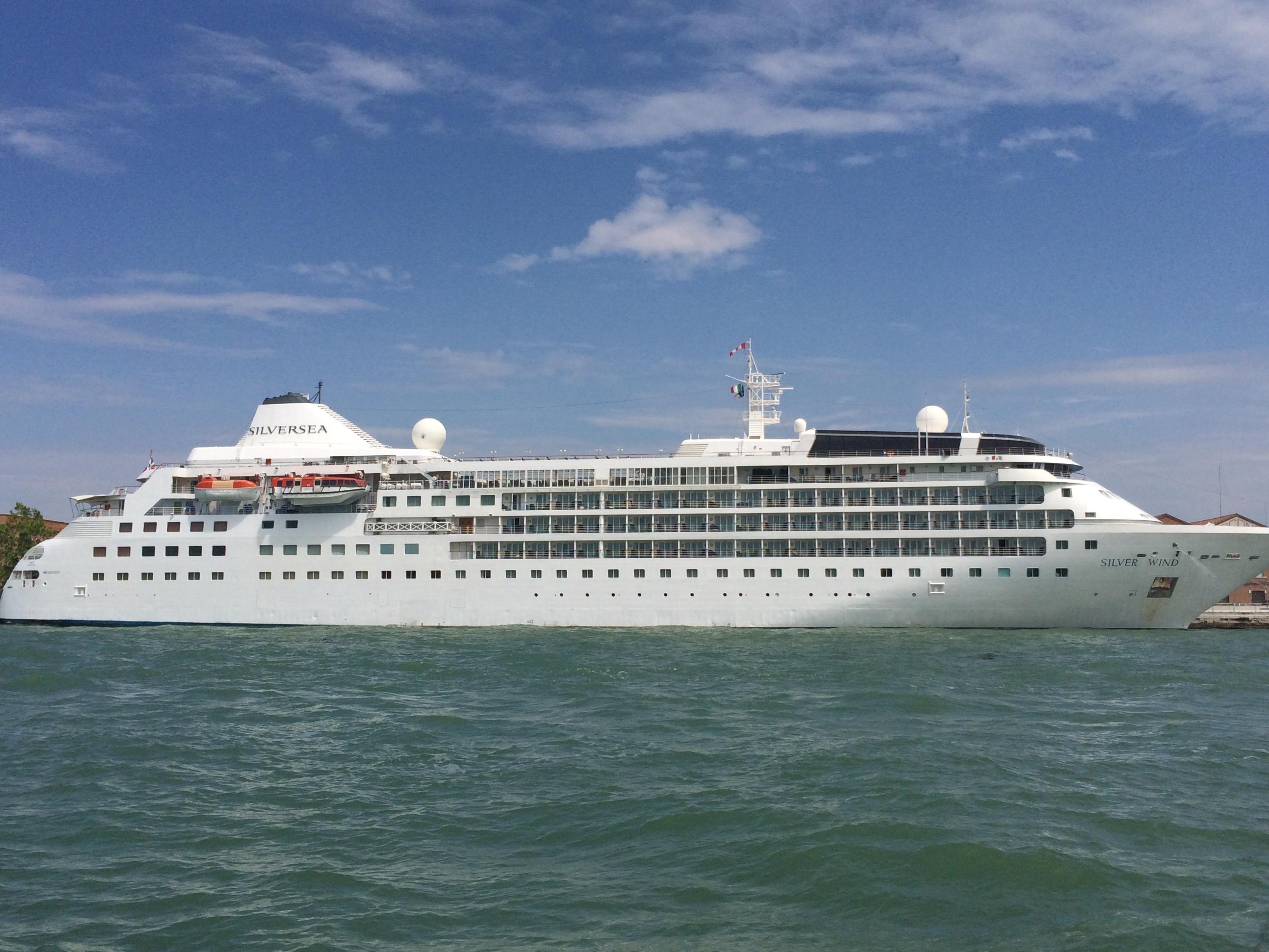 Venedig – Schiffsbesichtigung Silver Wind